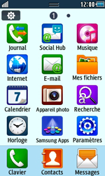 Samsung S5250 Wave 525 - Internet - Navigation sur Internet - Étape 2