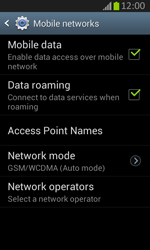Samsung S7710 Galaxy Xcover 2 - Network - Usage across the border - Step 6