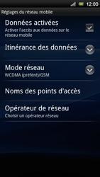 Sony Ericsson Xperia Neo V - Réseau - Utilisation à l