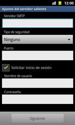 Samsung I8160 Galaxy Ace II - E-mail - Configurar correo electrónico - Paso 12
