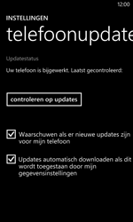 Nokia Lumia 1020 - Software update - update installeren zonder PC - Stap 7