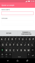 HTC Desire EYE - E-mail - Configuration manuelle - Étape 17