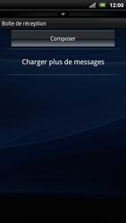 Sony Ericsson Xperia Arc S - E-mail - envoyer un e-mail - Étape 3