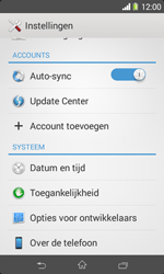 Sony D2005 Xperia E1 - Software update - update installeren zonder PC - Stap 4