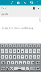 Samsung A500FU Galaxy A5 - E-mail - Escribir y enviar un correo electrónico - Paso 5
