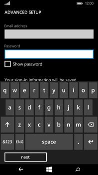 Microsoft Lumia 640 XL - Email - Manual configuration - Step 9