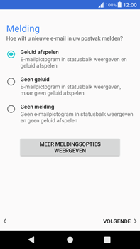 Sony Xperia XA1 Plus - E-mail - Handmatig instellen - Stap 21