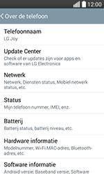 LG H220 Joy - Netwerk - Software updates installeren - Stap 6