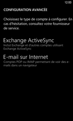 HTC Windows Phone 8S - E-mail - Configurer l