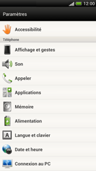 HTC Z520e One S - Messagerie vocale - configuration manuelle - Étape 5