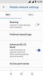 Nokia 1 - Network - Manually select a network - Step 6