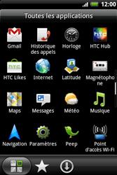 HTC A510e Wildfire S - Réseau - Utilisation à l