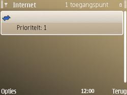Nokia E72 - Internet - handmatig instellen - Stap 13
