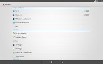 Sony Xperia Tablet Z2 (SGP521) - Internet - configuration manuelle - Étape 5