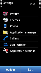 Nokia C7-00 - Internet - Enable or disable - Step 4