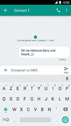 Motorola Moto C Plus - Contact, Appels, SMS/MMS - Envoyer un SMS - Étape 10