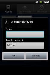 Sony Ericsson Xperia Mini Pro - Internet - navigation sur Internet - Étape 9