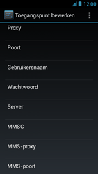 Acer Liquid Z5 - Internet - Handmatig instellen - Stap 15