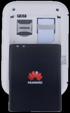 Huawei E5372 - Premiers pas - Noter les codes Wi-Fi - Étape 4
