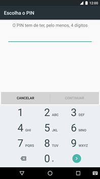 Huawei Google Nexus 6P - Segurança - Como ativar o código de bloqueio do ecrã -  8
