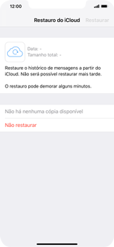 Apple iPhone XS Max - Aplicações - Como configurar o WhatsApp -  12