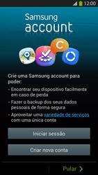 Samsung I9500 Galaxy S IV - Primeiros passos - Como ativar seu aparelho - Etapa 8