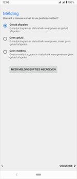 Sony Xperia 1 - E-mail - handmatig instellen (outlook) - Stap 15