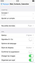 Apple iPhone 6 iOS 8 - E-mails - Ajouter ou modifier un compte e-mail - Étape 26