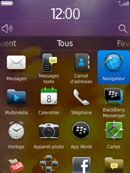 BlackBerry 9810 Torch - Internet - Navigation sur Internet - Étape 2