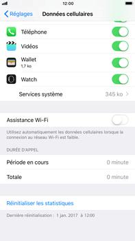 Apple iPhone 7 Plus iOS 11 - Internet - Désactiver Assistance WiFi - Étape 6