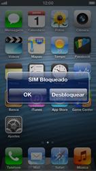 Apple iPhone iOS 6 - Funções básicas - Como reiniciar o aparelho - Etapa 5