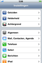 Apple iPhone 3G - E-mail - handmatig instellen - Stap 3