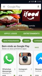 Samsung Galaxy S7 - Aplicativos - Como baixar aplicativos - Etapa 4