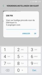 Samsung Galaxy A5 (2017) - Android Nougat - Beveiliging en ouderlijk toezicht - Hoe wijzig ik mijn SIM PIN-code - Stap 8