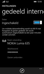 Nokia Lumia 635 - WiFi - Mobiele hotspot instellen - Stap 9