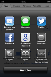 Apple iPhone 4 - iOS 6 - Internet - navigation sur Internet - Étape 5