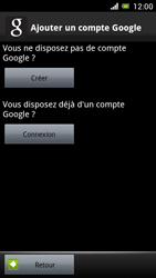 Sony Ericsson Xpéria Arc - Premiers pas - Créer un compte - Étape 9