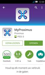 Huawei Y3 - Applicaties - MyProximus - Stap 9