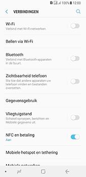 Samsung galaxy-a8-2018-sm-a530f-android-oreo - WiFi - Verbinden met een netwerk - Stap 5