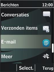 Nokia 206 Dual Sim - E-mail - Handmatig instellen - Stap 5