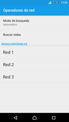 Sony Xperia M5 (E5603) - Red - Seleccionar una red - Paso 8