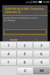 Alcatel OT-4015X Pop C1 - Sécuriser votre mobile - Personnaliser le code PIN de votre carte SIM - Étape 8