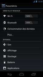 Samsung I9250 Galaxy Nexus - Internet - Activer ou désactiver - Étape 4