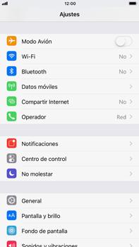 Apple iPhone 8 Plus - Funciones básicas - Activar o desactivar el modo avión - Paso 3