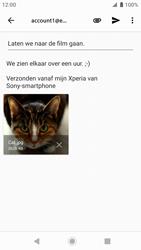 Sony xperia-xz-premium-g8141-android-pie - E-mail - Bericht met attachment versturen - Stap 16