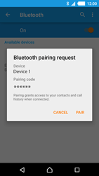 Sony E2303 Xperia M4 Aqua - WiFi and Bluetooth - Setup Bluetooth Pairing - Step 7
