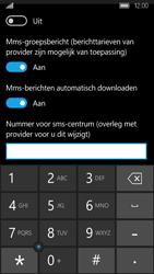 Acer Liquid M330 - SMS en MMS - Handmatig instellen - Stap 7