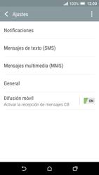 HTC One A9 - Mensajería - Configurar el equipo para mensajes de texto - Paso 7