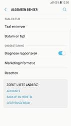 Samsung Galaxy S6 Edge - Android Nougat - Instellingen aanpassen - Fabrieksinstellingen terugzetten - Stap 5