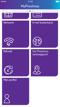 Apple Apple iPhone 6 Plus - iOS 10 - Applicaties - MyProximus - Stap 21